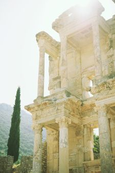 A Lovely Thyme - Library of Celsus in Ephesus