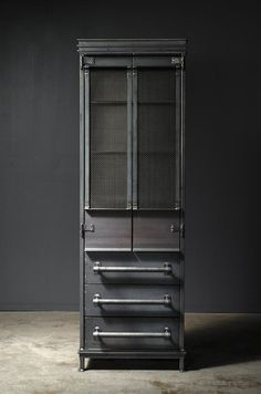 Vintage industrial furniture – Eclectic Home Decor Today Modern Industrial Furniture, Rustic Furniture, Vintage Furniture, Industrial Lamps, Iron Furniture, Steel Furniture, Furniture Online, Armoire Makeover, Cheap Beach Decor