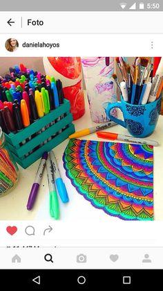 Zentangle Art Daniela Hoyos