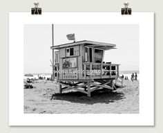 Santa Monica 27 Beach Photograph by SmokestackPhotomat on Etsy, $25.00