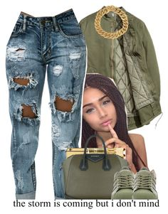 """""""."""" by independentbxtchesonly ❤ liked on Polyvore featuring Givenchy, adidas and Yves Saint Laurent"""