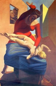 The Virgin Spanking the Christ Child before Three Witnesses: Andre Breton, Paul Eluard, and the Painter Max Ernst Date: Paris, France Style: Surrealism Period: First French period Genre: symbolic painting Dave Van Ronk, Peggy Guggenheim, Rene Magritte, Salvador Dali, Max Ernst Paintings, Andre Breton, Spanking Art, Theater, Jackson