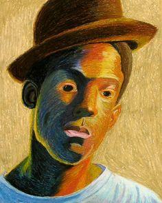 AAW 2D ART: Fauvist Portraits