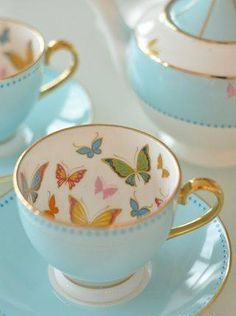 15 Ideas party themes vintage tea cups for 2019 Teapots And Cups, My Cup Of Tea, Tea Cup Set, Tea Service, China Patterns, Vintage China, Vintage Teacups, Vintage Art, Tea Sets Vintage