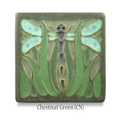 Meadow Dragonfly Tile | Ephraim Pottery