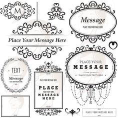 Floral Frame Ornaments Decoration Graphics Border Vintage Flourish Classic Chandelier Wedding Clipart Transparent Background Label Tag 10180 on Etsy, $7.91 AUD