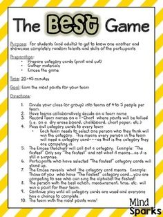 If you're looking for a fun team building activity to use at your ...