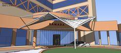 Acceso Ramada Hotel  Arabia Saudi 2009