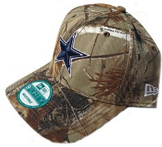 1e6caf91d47c8 Amazon.com   Men s New Era Dallas Cowboys Real Tree 9FORTY Structured  Adjustable Hat Adjustable   Sports Fan Baseball Caps   Sports   Outdoors