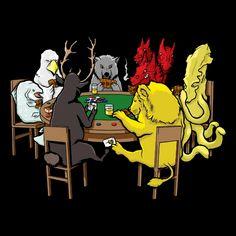 Poker Game of Thrones #got #agot #asoiaf