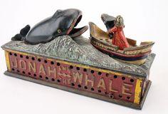 Jonah & Whale Mechanical Bank :