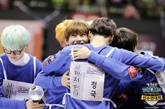 """Picture] BTS at 2016 """"Idol Star Athletics Championships"""" Lunar New ..."""