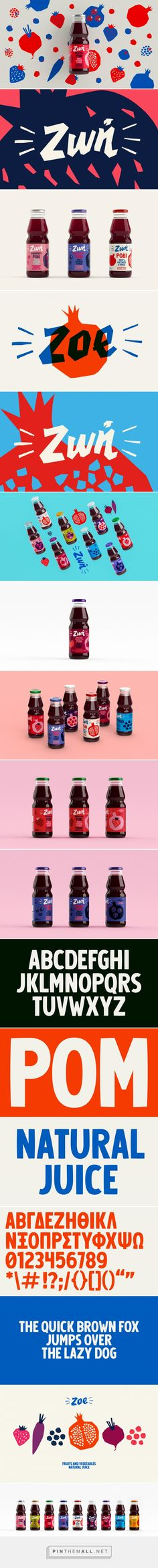 Zoe Juices on Behance - created via https://pinthemall.net