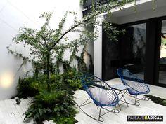 Área de descanso. : Jardines de estilo Moderno por Paisaje Radical