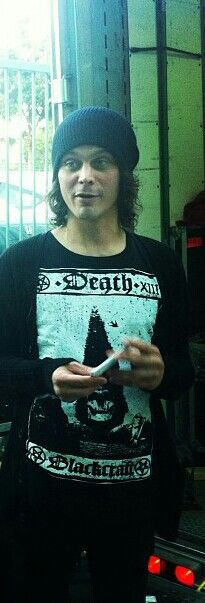 Ville Valo. i want his shirt by Black Craft Cult