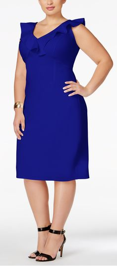 Bodycon is more work than I care for, but this is so pretty, and comes in lots of colors!