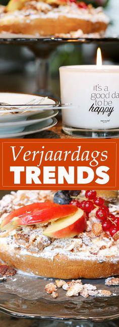 VerjaardagsTrends, van Half Bithday tot en met miniatuur gebakjes en gezellige @memats kaarsen | Trendbubbles.nl