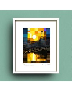 Browse our collection of prints and artwork by Fab Cow Design online now at the Kilkenny Shop. Irish and worldwide shipping available. Dublin Skyline, Loch Ness Monster, Love Frames, Irish Art, Love Signs, Morning Light, Inspirational Gifts, Limited Edition Prints, Bridges
