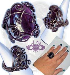 Elendili Bisart: Engaste de anillo en alambre