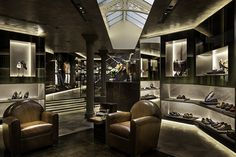 Berluti Maison, London | WORKS - CURIOSITY - Curio City -