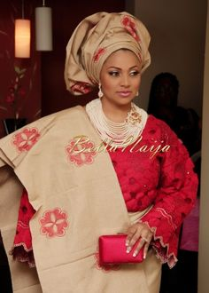 Nigerian Traditional Wedding Attire | African Attire | Pinterest ...