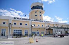 Vliegveld Aristarchos op Samos bij Pythagorion - Eiland Samos