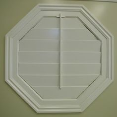 octagonal window coverings | ... Octagonal Shaped shutters are a work of art for your custom window