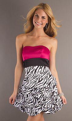 Pink Zebra Dresses - RP Dress
