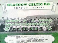 Celtic team group for 1951-52.