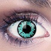 Werewolf Eyes Contact Lenses | Green Werewolf Eye Lenses
