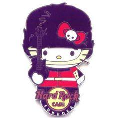 Hard Rock Cafe Fukuoka 2012 Hello Kitty World Pin #2