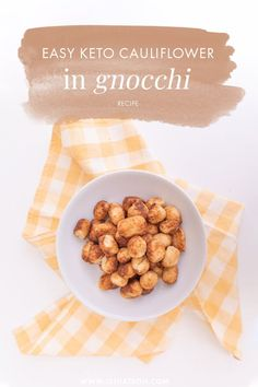 A super easy to make gnocchi recipe with a keto twist! Learn how to make this traditional Italian recipe with a keto twist to it! Paleo Recipes, Low Carb Recipes, Dog Food Recipes, Snack Recipes, Delicious Recipes, Free Recipes, Dinner Recipes, Snacks, My Favorite Food