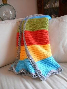 Greenhill Lane Designs: A Crocheted Baby Blanket