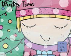 Disegno Natale per Cartoline Biglietti di auguri Quadretti