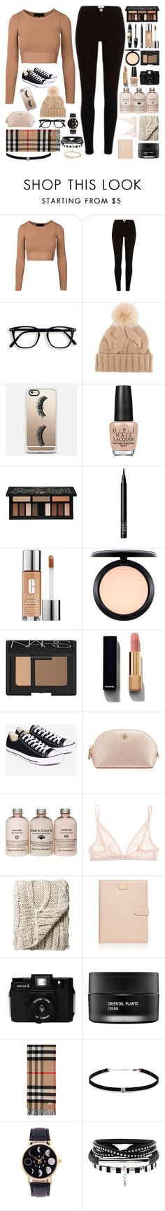 """""""❁// i don't go looking for trouble, trouble usually finds me"""" by a-perfect-messs ❤ liked on Polyvore featuring Loro Piana, Casetify, OPI, Max Factor, Kat Von D, NARS Cosmetics, Clinique, MAC Cosmetics, Chanel and Converse"""