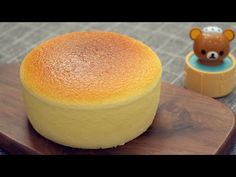 Kabarık Japon Keki [Aşırı Kabarık & Jiggly] Japanese Souffle Cheesecake - YouTube Souffle Cheesecake Recipe, Cheesecake Cupcakes, Blueberry Cheesecake, No Cook Desserts, Sweets Recipes, Baking Recipes, Japanese Cheesecake Recipes, Japanese Pastries, British Baking