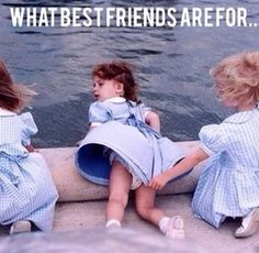 Life Lessons You Only Learn With A Best Friend As part of a BFF team, it's your job to make sure your bestie doesn't humiliate themselves too much.As part of a BFF team, it's your job to make sure your bestie doesn't humiliate themselves too much. Bff Quotes, Best Friend Quotes, Best Friend Goals, Funny Quotes, Quotes Pics, Friend Memes, Fun With Friends Quotes, Picture Quotes, Quote Friends