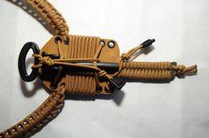 paracord firesteel | ... EAP Survival Neck Knife Coyote 550 Paracord Bushcraft Firesteel | eBay