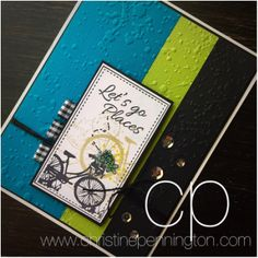 To purchase the products to re-create this card... GO to www.funstampersjourney.com/87Picture