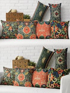 Free shipping Retro ethnic style Cushions Home Decor Modern new Chinese style Chair Cushion stylish and beautiful Cushion Cover $14.99
