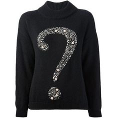 Moschino Cheap and Chic Question Mark Sweater