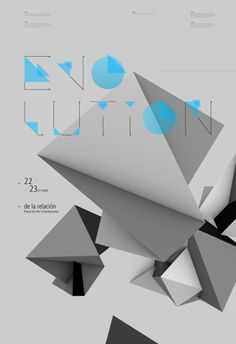 Evolution | #poster #graphics #typography
