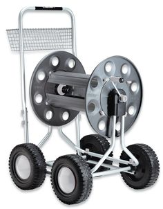 Jumbo 4 Wheel Hose Cart