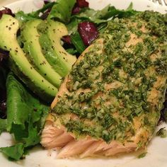 Salmon and dill- yum!