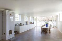 murermestervilla ombygning tilbygning danske boligarkitekter køkken