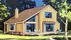 Coastal   Contemporary   House Plan 99675  My house!  Surprised they still have the plans out.
