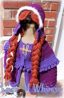 Free Crochet Pattern Elsa Cape : 1000+ ideas about Anna Cape on Pinterest Knots ...