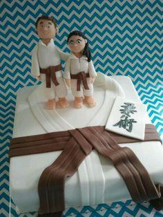 Jiujitsu cake martial arts