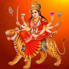 The Navaratri pujas and homas invoke the ultimate primordial force Goddess Adi Shakti for her divine blessings. Durga Picture, Maa Durga Photo, Maa Durga Image, Lord Durga, Durga Ji, Durga Goddess, Indian Goddess, Durga Mata Hd Wallpaper, Maa Wallpaper
