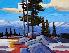 A collection of Paintings by Canadian Painter Nicholas Bott. Canadian Art, Colorful Art, Acrylic Painting Inspiration, Mountain Paintings, Art, Van Gogh Art, Art Pictures, Landscape Art, Canada Art